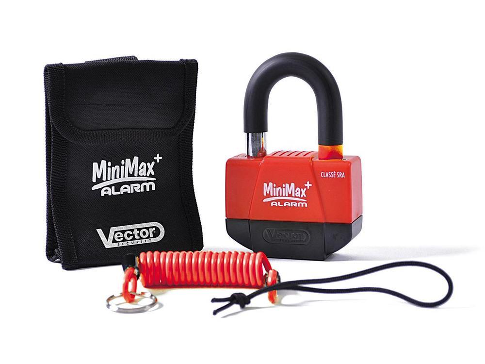 保管・盗難防止用品 VECTOR ベクター MINIMAXALARM+  ポイント10倍! VECTOR MINIMAX + アラームディスクロック (10個セット)Φ16mm/55 x 40mm (SRA認定)【Pack of 10 pcs Vector MiniMax + Alarm Disc Lock Φ16mm / 55x40mm (SRA approved)】【ヨーロッパ直輸入品】