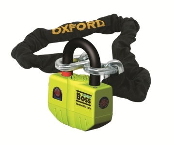 OXFORD オックスフォード チェーンロック BOSS ALARM 4Star NWT + CHAIN 【ヨーロッパ直輸入品】