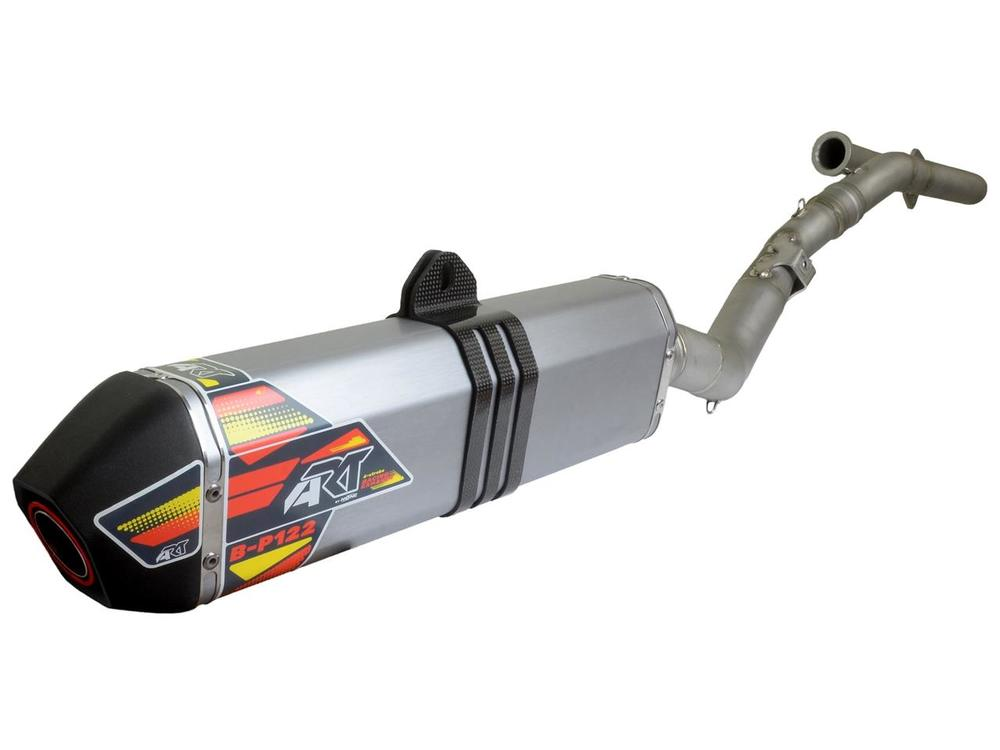 A.R.T エーアールティー B-P122 Stainless Steel Full Exhaust System 【ヨーロッパ直輸入品】 RR430 (430) 15-18