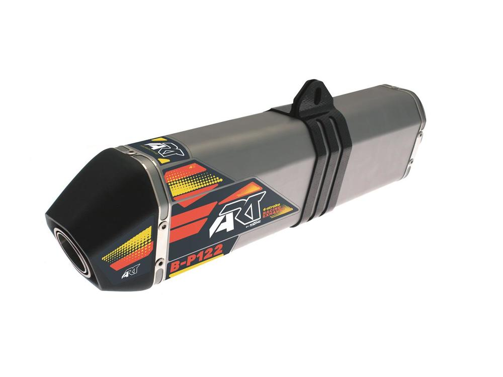 A.R.T エーアールティー スリップオンマフラー B-P122 Aluminium Slip-on/Black End Cap 【ヨーロッパ直輸入品】 FE501 (501) 14-16
