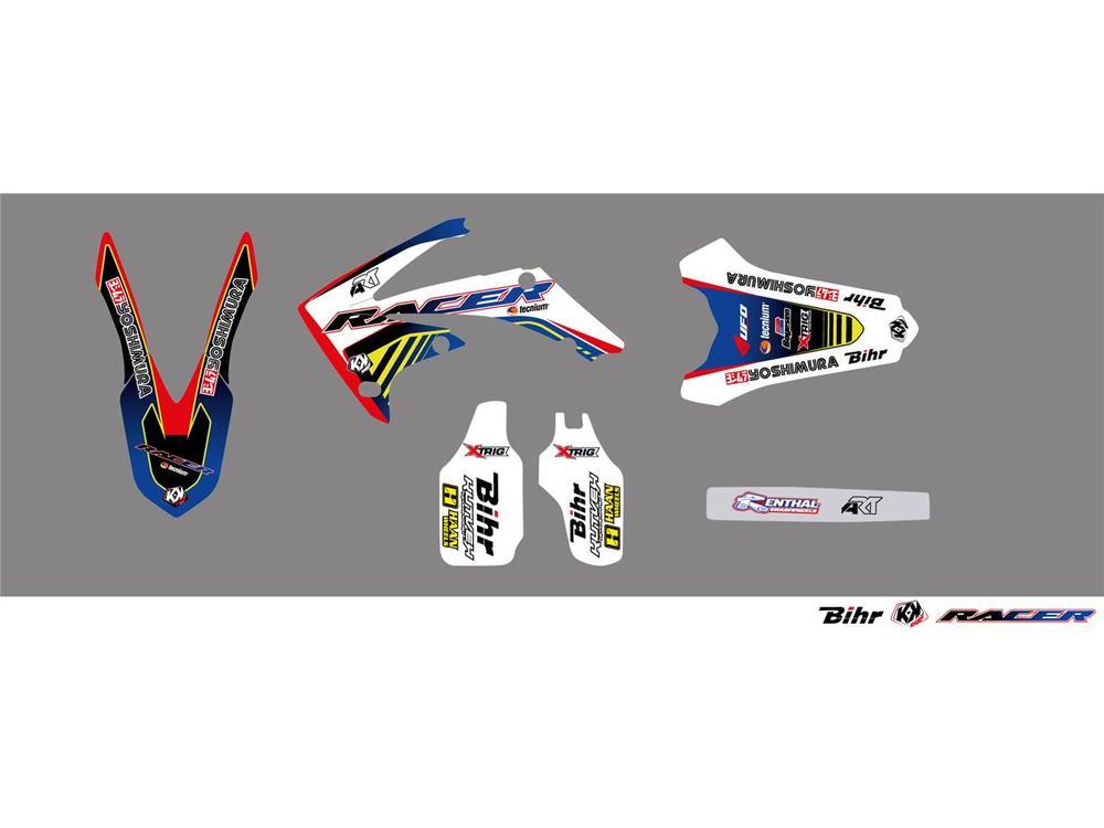 KUTVEK クヴェック ステッカー・デカール Racer Graphic Kit【ヨーロッパ直輸入品】 CRF250R (250) 10-13
