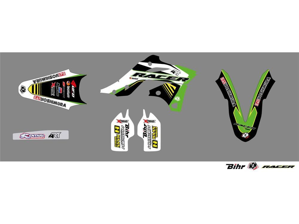 KUTVEK クヴェック ステッカー・デカール Racer Graphic Kit【ヨーロッパ直輸入品】 KX250F (250) 13-16