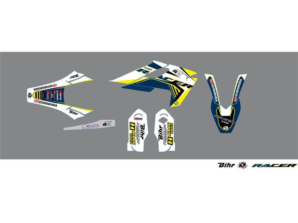 KUTVEK クヴェック ステッカー・デカール Racer Graphic Kit【ヨーロッパ直輸入品】 TC85 17|14 TC85 19|16