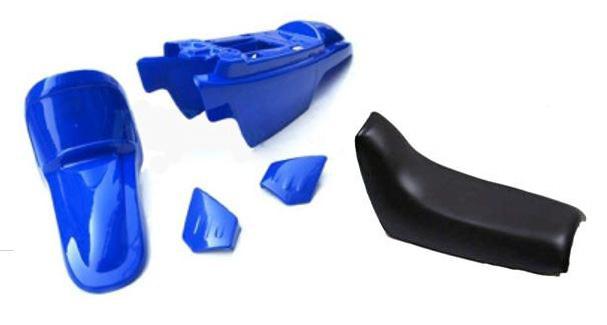 A.R.T エーアールティー フルカウル・セット外装 Plastic Kit OEM w/ Complete Seat Black 【ヨーロッパ直輸入品】 PW50 (50) 90-18