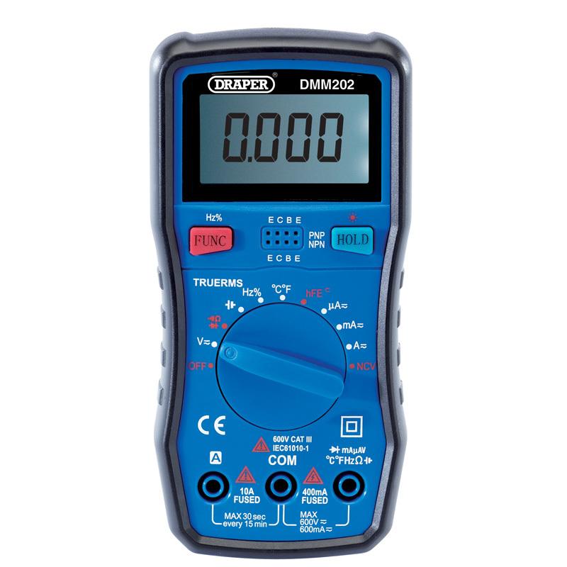 DRAPER ドラッパー メンテナンス小物 Digital Multimeter 【ヨーロッパ直輸入品】