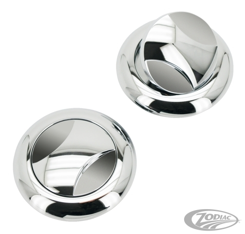 ZODIAC ゾディアック タンクキャップ VIPER STYLE FLUSH MOUNT PAINT PROTECTOR GAS CAPS