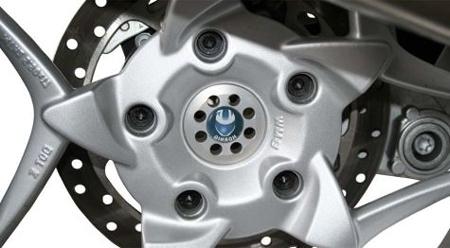 Hornig ホーニグ ホイール関連パーツ Rear wheel centre cover 仕上げカラー:ポリッシュト