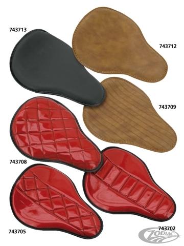 ZODIAC ゾディアック シート本体 ECO LINE MINI SOLO SEATS COLOR:Brown with centered diamond line stitching