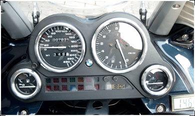 Hornig ホーニグ スピードメーター リング K 1200 GT K 1200 RS