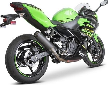 SpeedPro COBRA スピードプロ コブラ スリップオンマフラー SPX Slip-on Road Legal/EEC/ABE homologated Kawasaki Ninja 400/Ninja 250/Z400 スリップオン