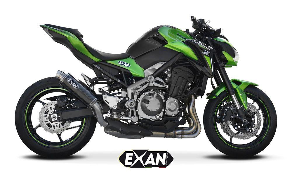 EXAN エグザン スリップオンマフラー SIL X-GP【マフラー】 タイプ:ショート Z900 (2017-)