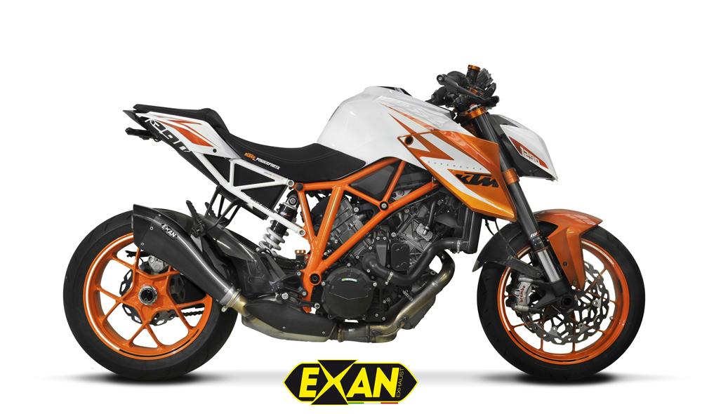 EXAN エグザン スリップオンマフラー SIL X-EVO【マフラー】 タイプ:ロング 1290 SUPER DUKE R