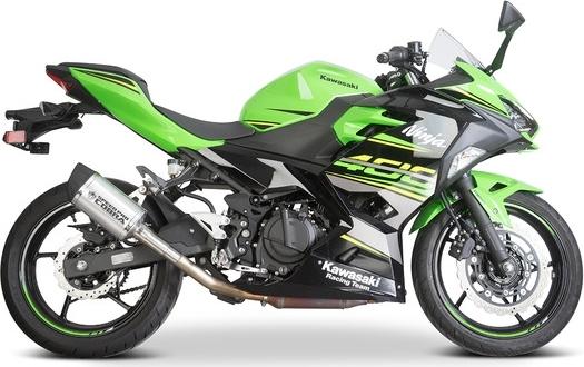 SpeedPro COBRA スピードプロ コブラ スリップオンマフラー GP2-RR Slip-on Road Legal/EEC/ABE homologated Kawasaki Ninja 400/Ninja 250/Z400 スリップオン