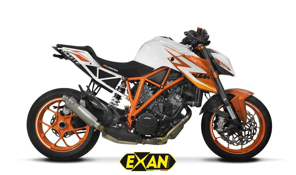 EXAN エグザン スリップオンマフラー SIL X-GP【マフラー】 タイプ:ロング 1290 SUPER DUKE R