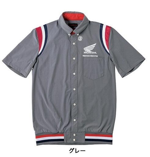 HONDA RIDING GEAR ホンダ ライディングギア カジュアルウェア 裾リブピットシャツSS【HONDA×SHINICHIRO ARAKAWA】 サイズ:3L