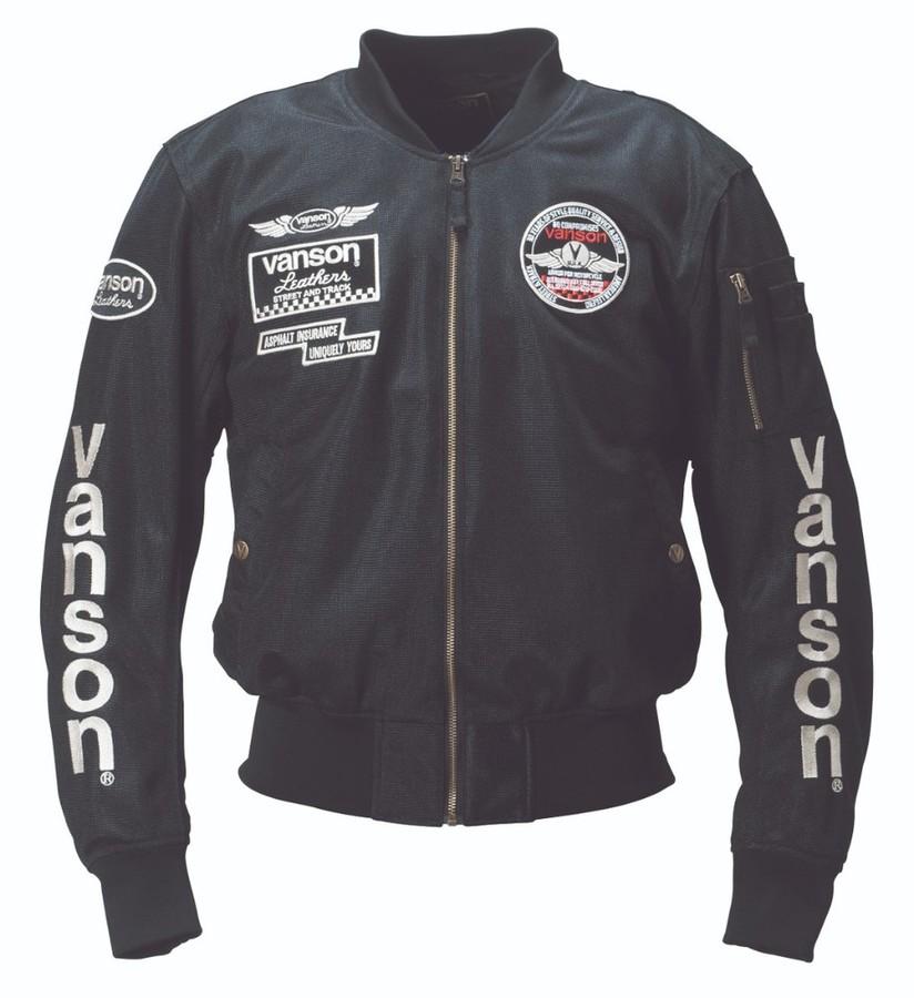 VANSON バンソン メッシュジャケット サイズ:M