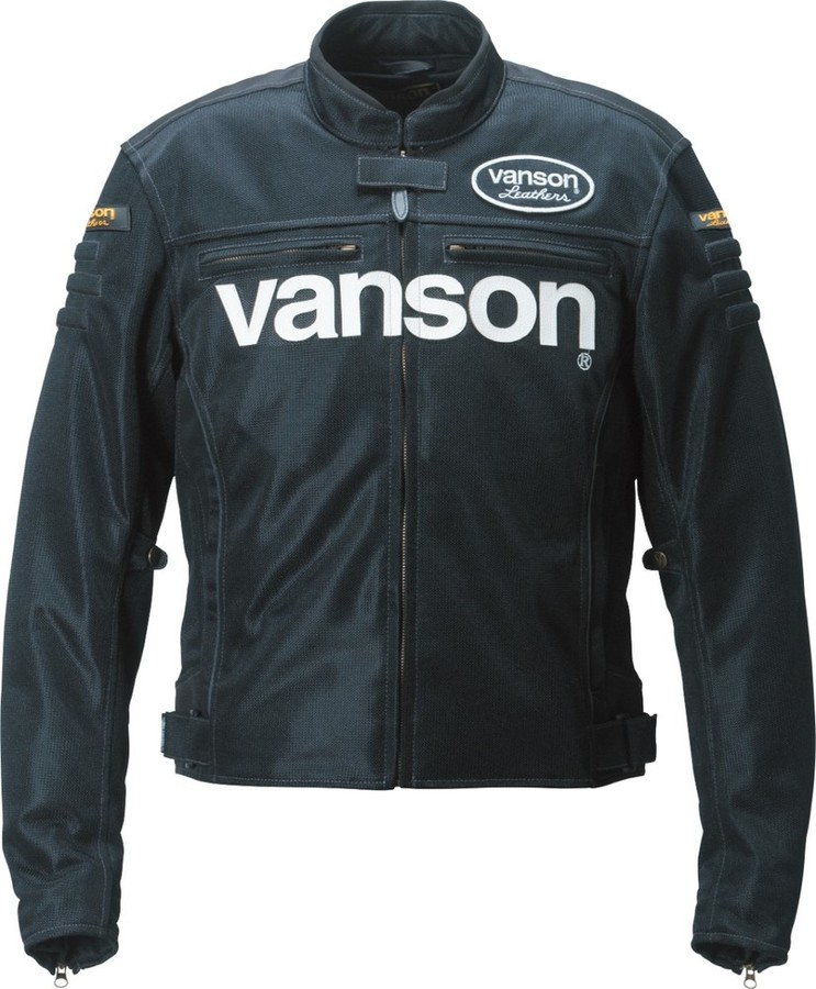 VANSON バンソン メッシュジャケット サイズ:L