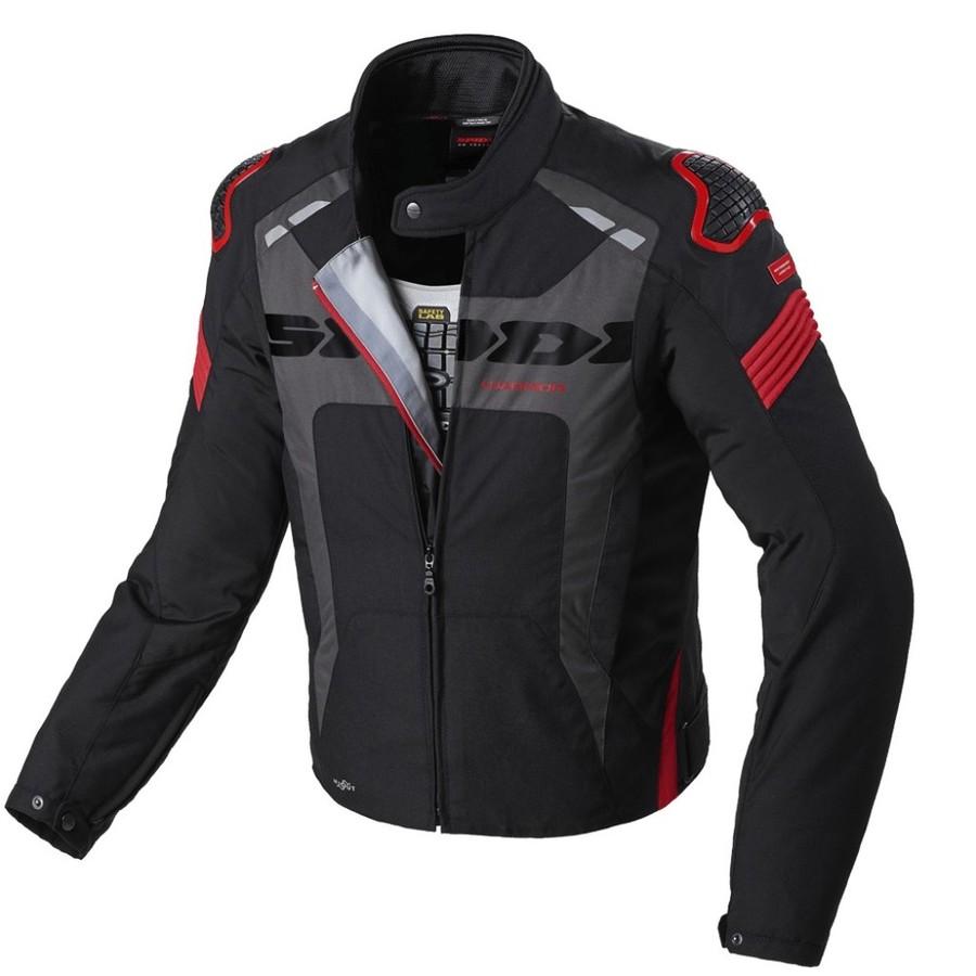 【送料無料】ジャケット SPIDI スピーディー D206-021  SPIDI スピーディー 3シーズンジャケット WARRIOR H2OUT SIZE:M