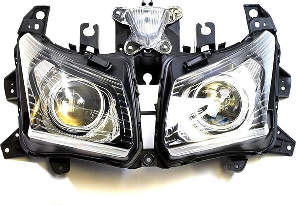 ATop エートップ ヘッドライト本体・ライトリム/ケース ヘッドライトユニット TMAX530