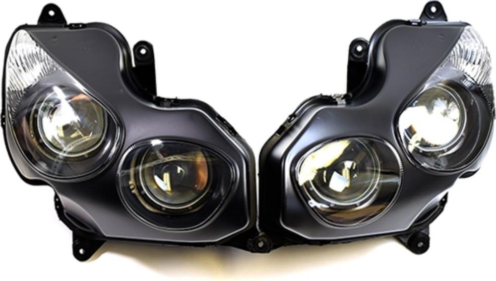 ATop エートップ ヘッドライト本体・ライトリム/ケース ヘッドライトユニット ZX-14R