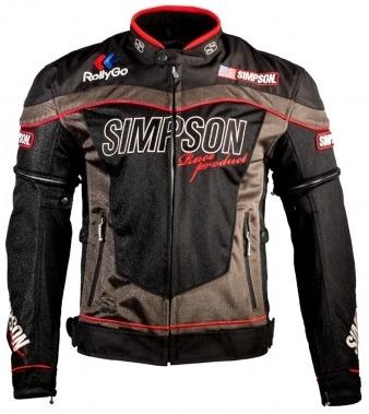 SIMPSON シンプソン NSM-2 メッシュジャケット サイズ:LW