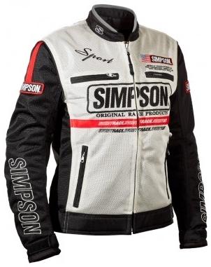 SIMPSON シンプソン NSM-3L メッシュジャケット【レディース】 サイズ:M