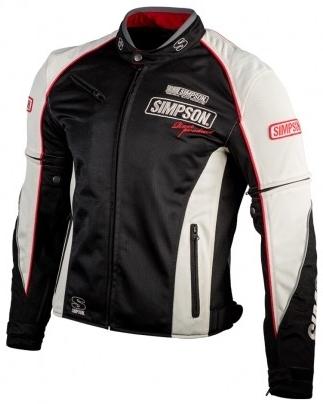 SIMPSON シンプソン NSM-4 メッシュジャケット サイズ:LW