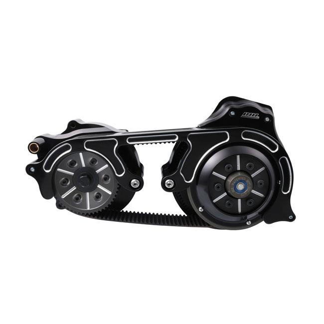 珍しい BELT DRIVES LTD. ベルトドライブ ミッション モータープレートベルトキット 2個【2 PIECE MOTORPLATE BELT KIT】 COLOR:BLACK FLT FLT TOURING, one2one 20c9d3de