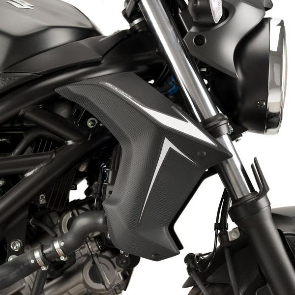 【在庫あり】Puig プーチ サイドカバー ラジエーターサイドパネル SV650 ABS