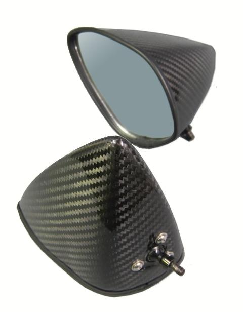 買い誠実 A-TECH エーテック Aテック ミラー類 フルアジャスタブル ドライカーボンミラーセット シャフト素材:アルミ タイプ:6 本体素材:綾織ドライカーボン VFR750R, Reberty 1c7165f0