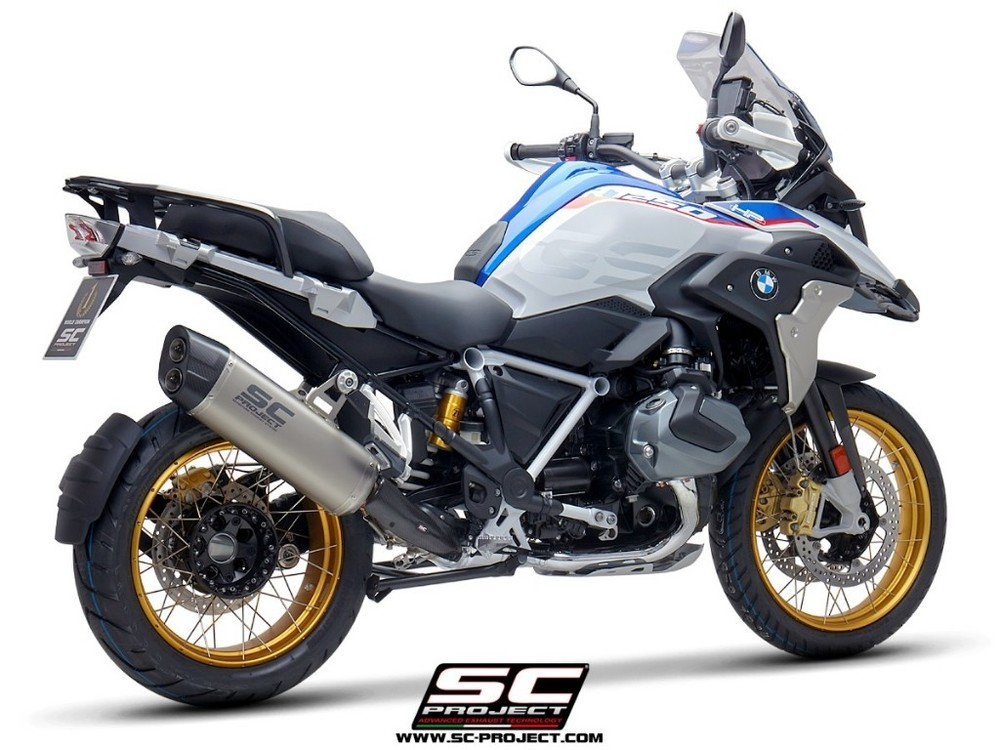 SC-PROJECT SCプロジェクト スリップオンマフラー アドベンチャーエキゾースト R 1250 GS 19 R1250GS Adventure