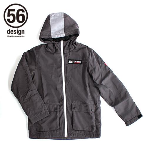 【送料無料】ジャケット 56design 56デザイン 22-1632-005-185  ポイント10倍! 56design 56デザイン ウインタージャケット SPORT Bench Coat[スポーツ ベンチ コート] サイズ:M