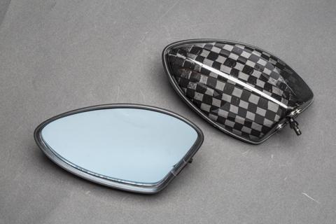 A-TECH エーテック Aテック ミラー類 フルアジャスタブル ドライカーボンミラーセット シャフト素材:カーボンシャフト タイプ:5 素材:開繊ドライカーボン Ninja650