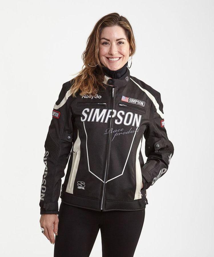 SIMPSON シンプソン NSW-1902L Ladys Polyester Performance Jacket [レディース ポリエステ パフォーマンスジャケット]