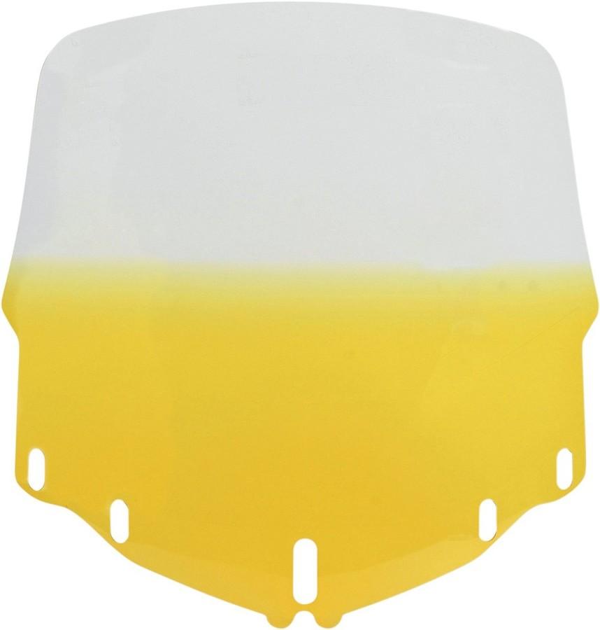 MEMPHIS SHADES メンフィスシェイズ スクリーン ウインドシールド GL1800 スタンダード イエロー 【WSHLD GL1800 STD, YEL [2312-0131]】