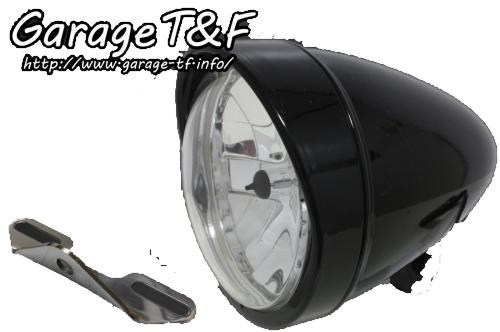 ガレージT&F 5.75インチロケットライト&ライトステー(タイプB)キット ドラッグスター400クラシック
