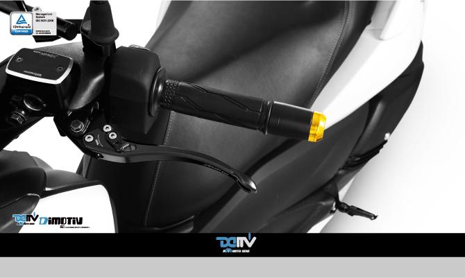 【ポイント5倍開催中!!】Dimotiv ディモーティヴ ナイトクローラー ラージバーエンドウェイト(Large Bar End Weight - Nightcrawler) カラー:Titanium XMAX 300