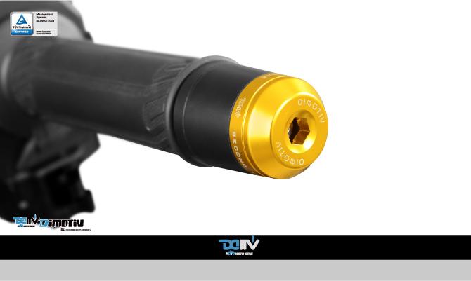 Dimotiv ディモーティヴ ナイトクローラー スモールバーエンドウェイト(Small Bar End Weight - Nightcrawler) Z650
