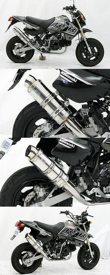 WirusWin ウイルズウィン フルエキゾーストマフラー ロイヤルマフラー スポーツタイプ KSR110