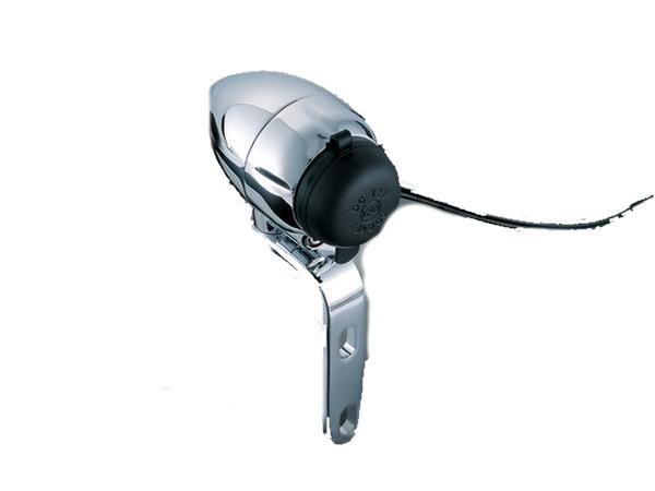 Kuryakyn クリアキン 1インチハンドルバー用 ELECTRICAL シガーソケット 汎用 1インチハンドルバー Touring [ツーリング] Softail [ソフテイル] Dyna [ダイナ] Sportster [スポーツスター] V-ROD [Vロッド]
