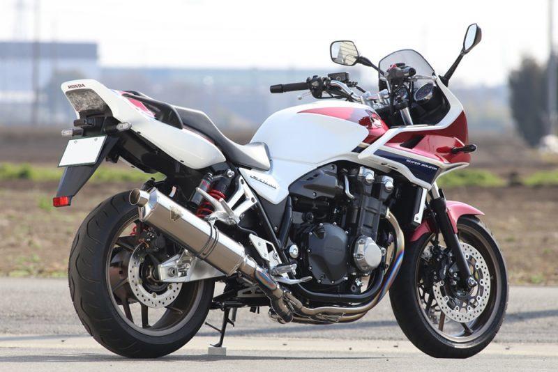 r's gear アールズギア ワイバンクロスオーバル フルエキゾーストマフラー CB1300スーパーフォア CB1300スーパーボルドール
