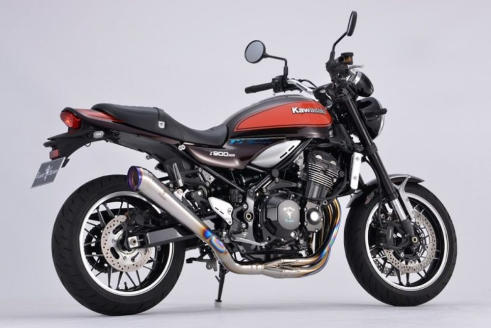 r's gear アールズギア ワイバンクラシックR シングルメガホンタイプマフラー Z900RS Z900RS CAFE