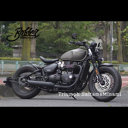 Moto Ace design モトエースデザイン ショートフェンダー ナンバーステーキット ボンネビル BOBBER