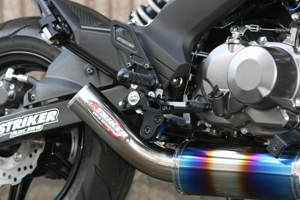 【イベント開催中!】 STRIKER ストライカー バックステップ スペシャルステップキット Z125 プロ
