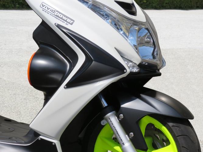 VIVIDPOWER ビビッドパワー スクーター外装 サイドカウル カラー:シルキーホワイト(純正色) MAJESTY S(SG28J)