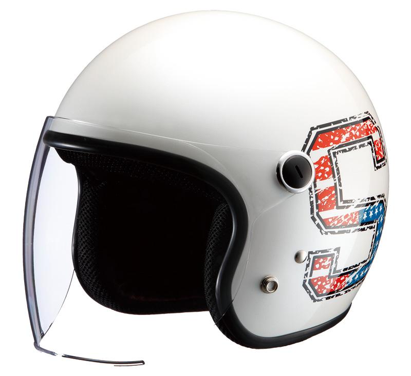ライズ ジェットヘルメット SugarRidez Vivian (ヴィヴィアン) ヘルメット
