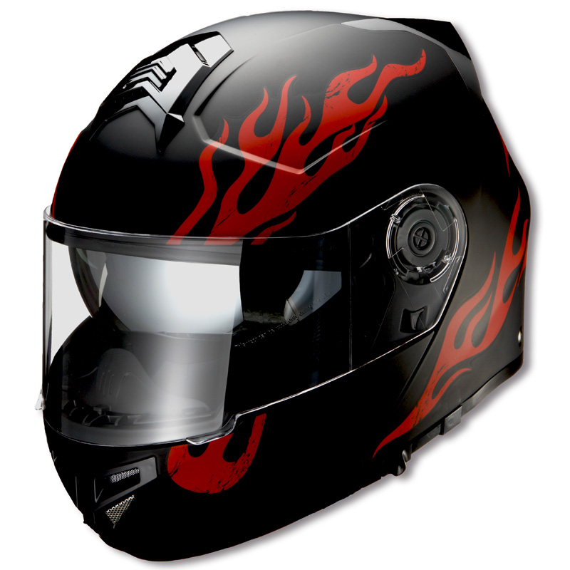 RIDEZ ライズ フルフェイスヘルメット GK FIRE ヘルメット