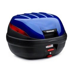 US KAWASAKI 北米カワサキ純正アクセサリー 39L トップケースカラーパネル (39 Liter Top Case, Color Panel, Candy Cascade Blue) NINJA 1000 ABS