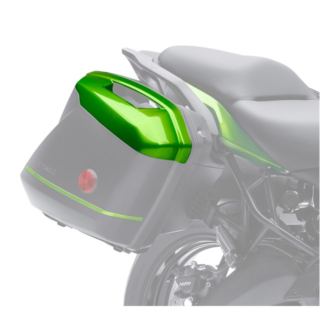 US KAWASAKI 北米カワサキ純正アクセサリー KQR (TM) 28L ルハードサドルバッグ カラーパネルセット (KQR (TM) 28 Liter Hard Saddlebag - Color Pannel Set) NINJA 1000 ABS VERSYS 1000 LT 2016 VERSYS 650 ABS VERSYS 650 LT