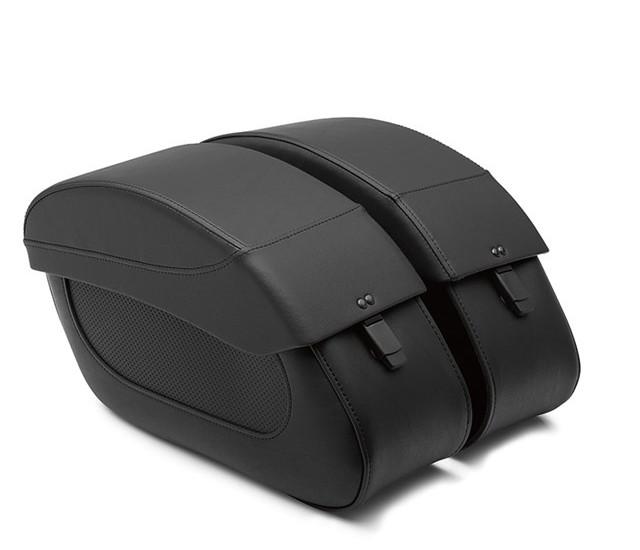 US KAWASAKI 北米カワサキ純正アクセサリー サドルバッグ・サイドバッグ KQR (TM) サドルバッグ (Saddlebag Set, Premium)